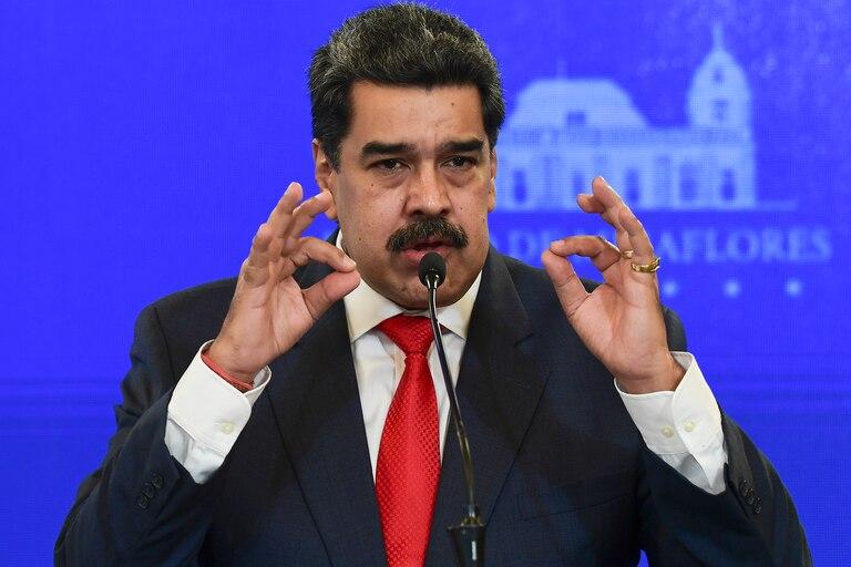 El presidente parcialmente reconocido de Venezuela Nicolás Maduro
