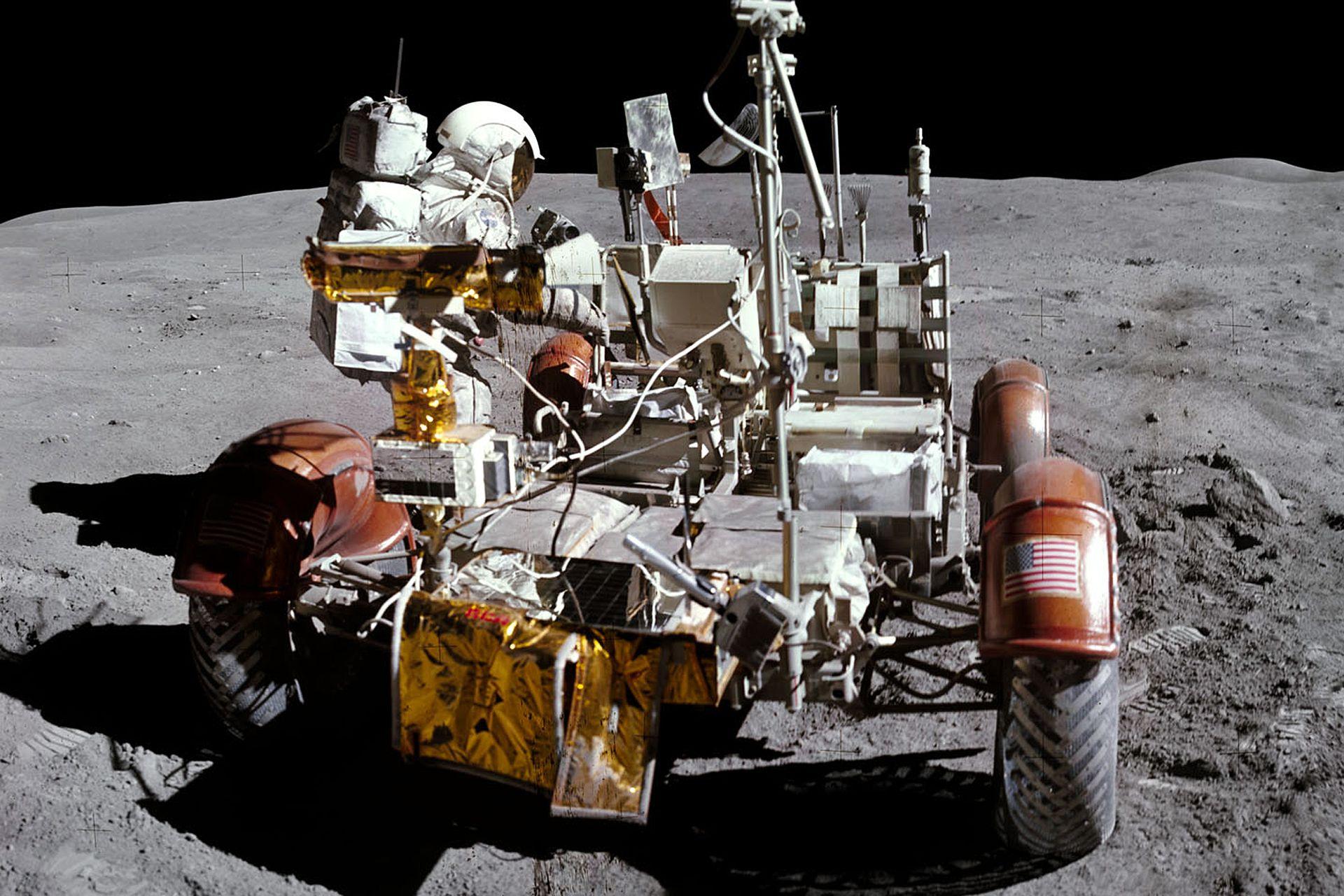 """Expertos de la NASA """"zurcieron"""" las imágenes que llegaron desde la Luna hace 50 años"""