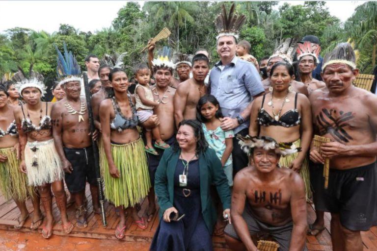 """Bolsonaro se mofó en un tuit de Alberto Fernández y su frase sobre """"los brasileros que salieron de la selva"""""""