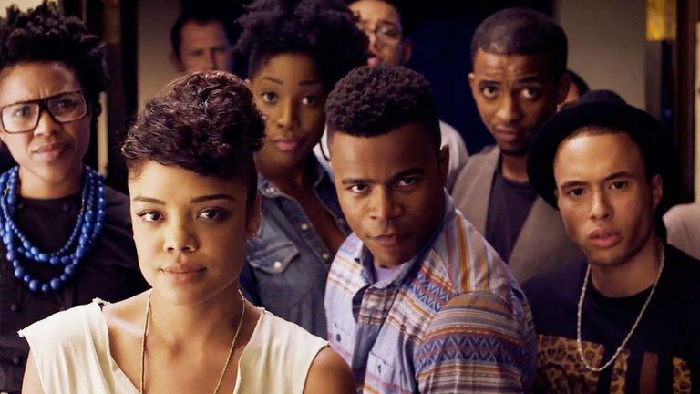 Tessa en el film Dear White People, que ahora se convertirá en una serie de Netflix