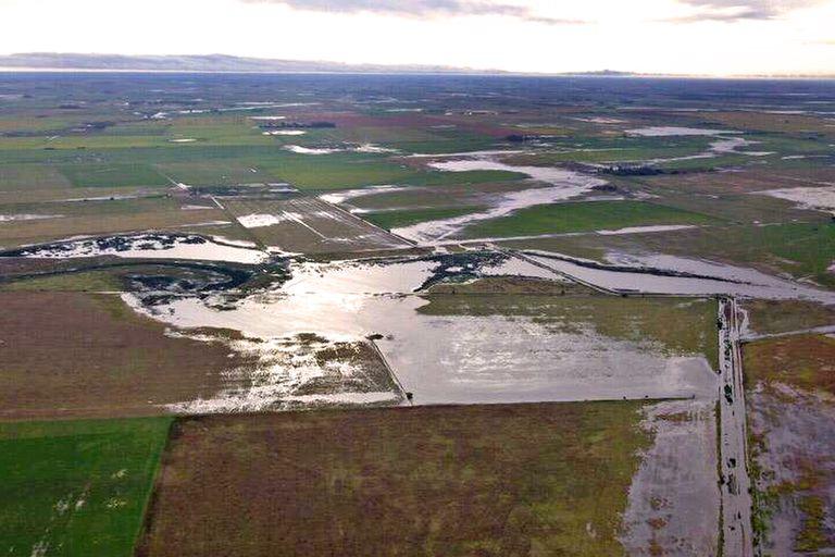 Dramática situación en tambos cordobeses por las fuertes lluvias