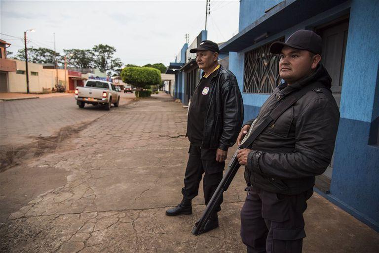 En Pedro Juan Caballero se advierte la presencia policial, pero no es suficiente