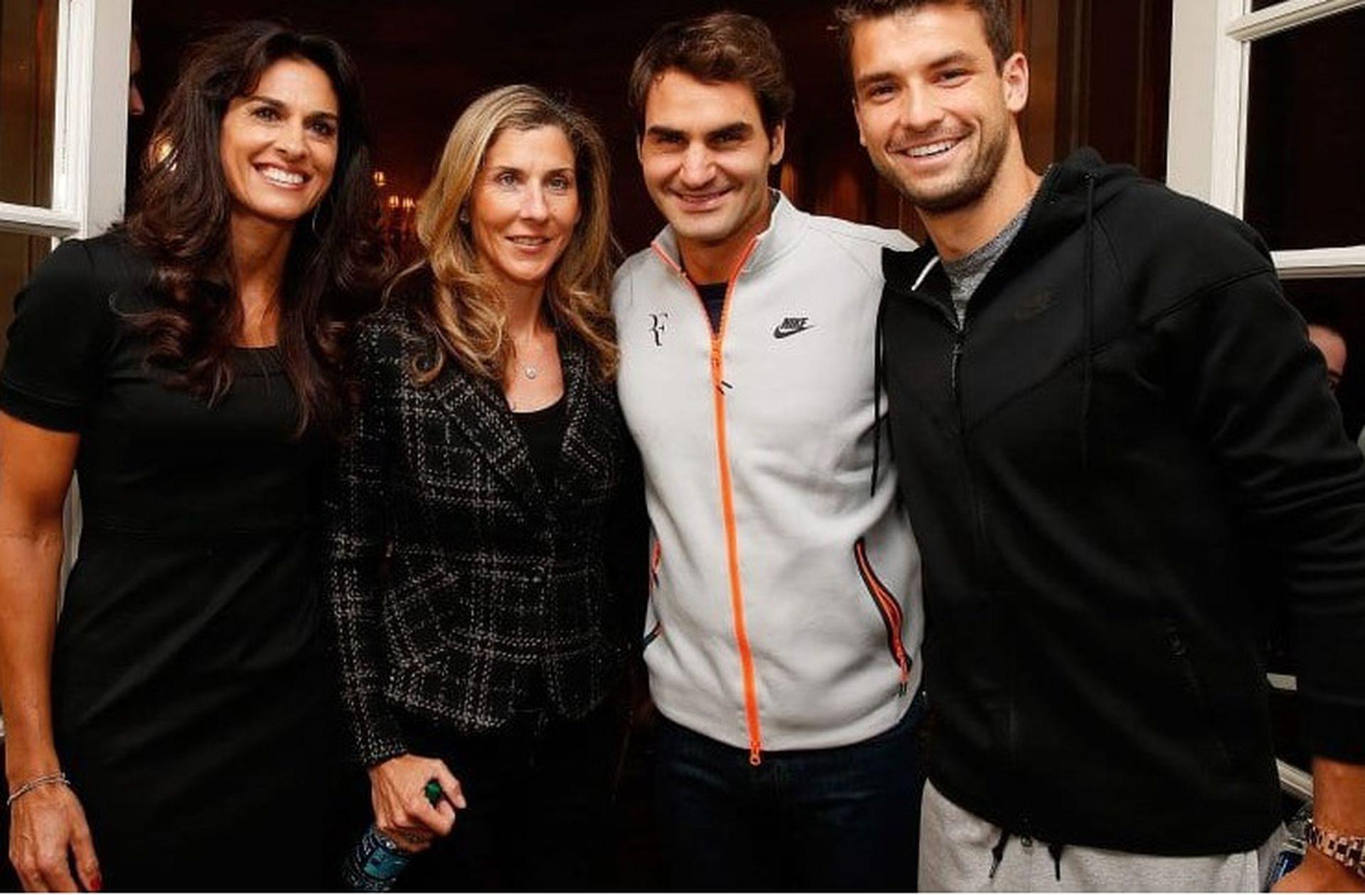 """40) """"Gaby es la mejor persona y una jugadora maravillosa"""". ¿Quién lo dijo? Roger Federer, que siempre admiró a la argentina. Coincidieron en la exhibición del Madison, en 2015."""