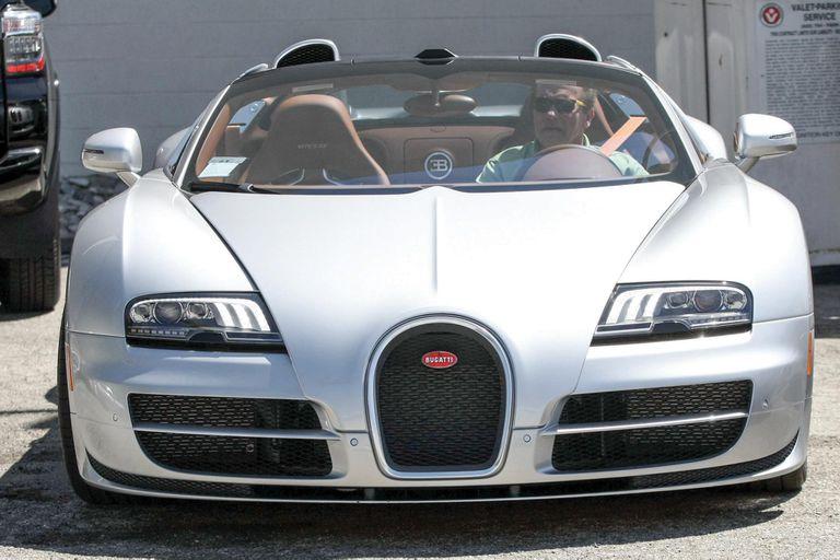 """Casi no lo usé"", reveló de su Bugatti Veyron Grand Sport Vitesse"