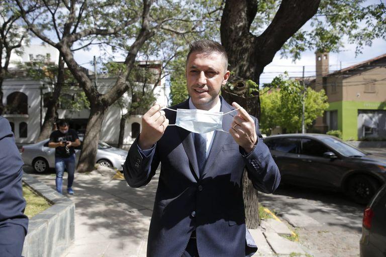 """Voy a contar cómo lo vi a Diego"", dijo Matías Morla antes de declarar como testigo"