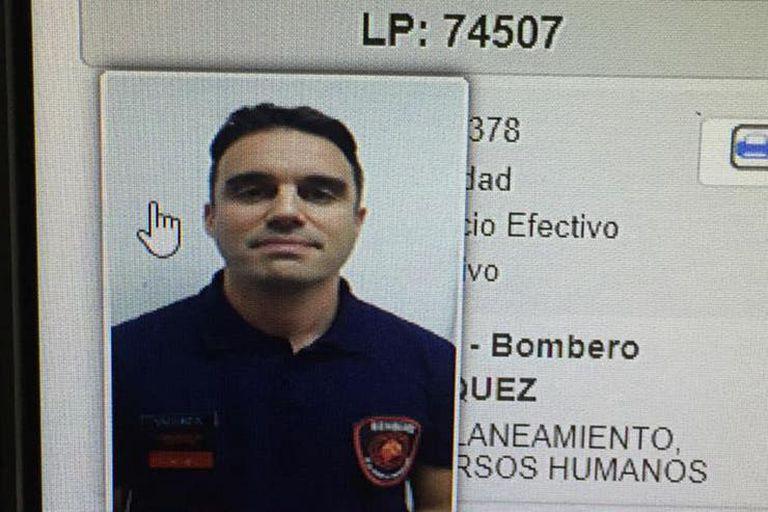 Comandante Director Ariel Vázquez