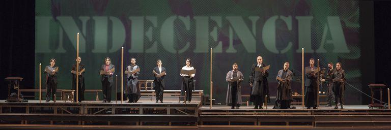 Ópera Theodora 2021. Ensayo General en el Teatro Colón
