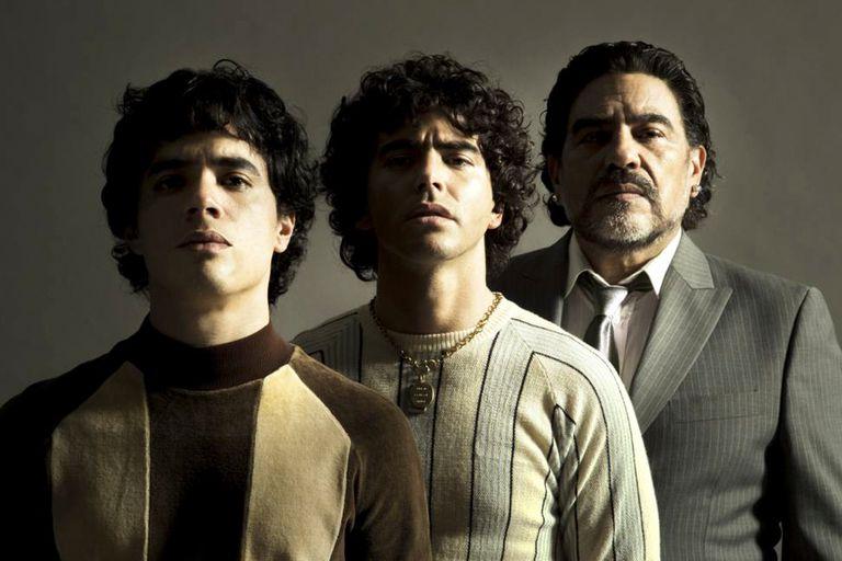 Los tres Maradonas: Goldschmidt, Casero y Palomino
