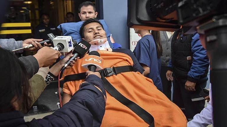 """Otro """"milagro"""" de un sobreviviente de la tragedia de Chapecoense"""