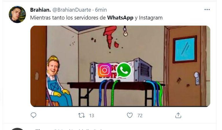 Mark Zuckerberg no quedó exento de los memes
