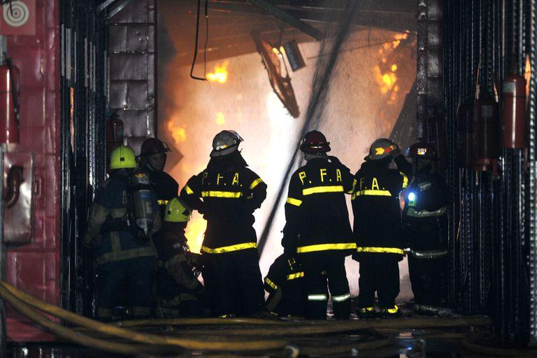 Iron Mountain. Cómo fue el trágico incendio que se cobró diez vidas