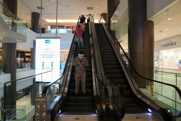 El shopping Cidade de Sao Paulo, en San Pablo