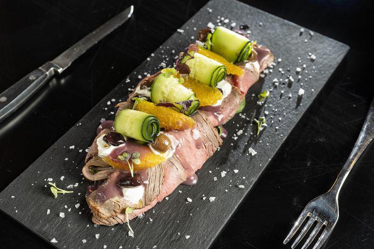 """Picada """"beef Malbec"""", uno de los platos del restaurante."""