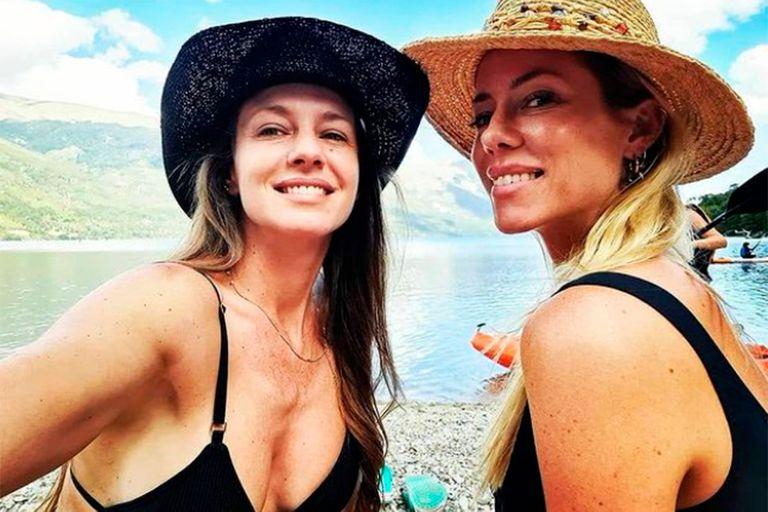 Las vacaciones compartidas de Nicole y Geraldine Neumann, en la Patagonia