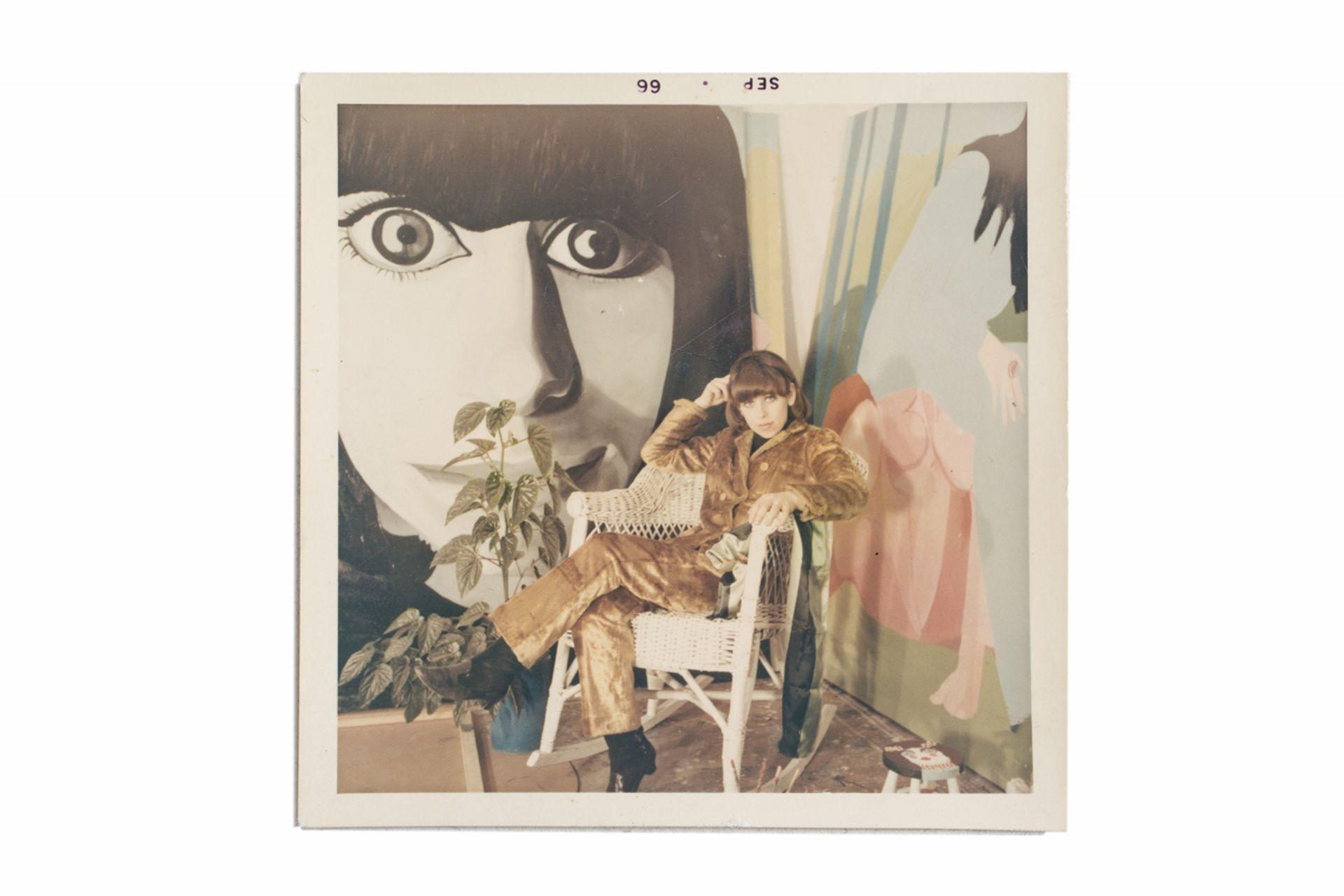 """Delia Cancela en su taller, en 1966. """"Yo ya era feminista -recuerda-, siempre me preguntaba qué pasaba, por qué tanto tabú sobre la mujer"""""""