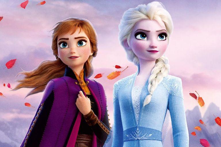 Anna y Elsa, en la segunda parte del éxito de Disney, que está a punto de llegar a los dos millones de espectadores en nuestro país