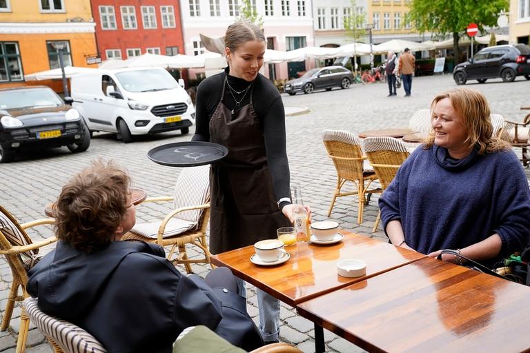 El restaurante Huks Fluks de Copenhague