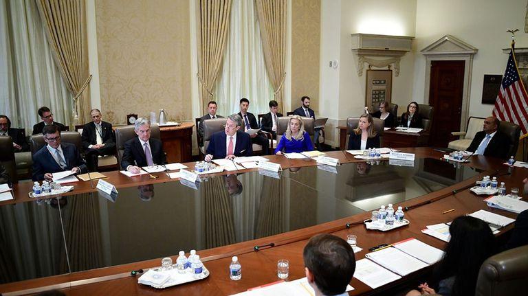 28-05-2021 El FOMC de la Fed, reunido el 08/04/2019. ECONOMIA RESERVA FEDERAL DE EEUU