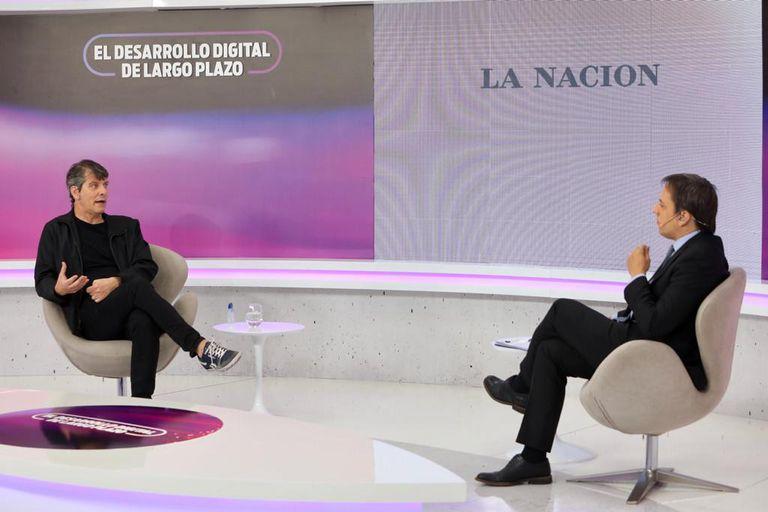 Mario Pergolini (Vorterix Media), en diálogo con José Del Rio (LA NACION)
