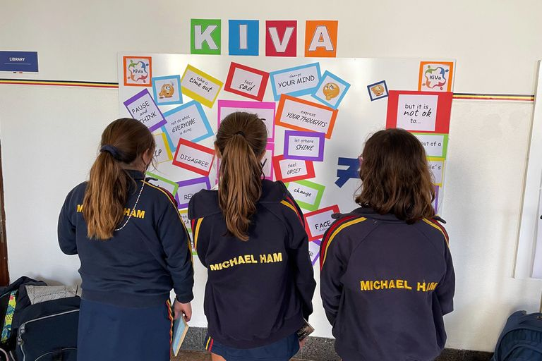El método Kiva, que se usa para abordar la temática de bullying en el Michael Ham