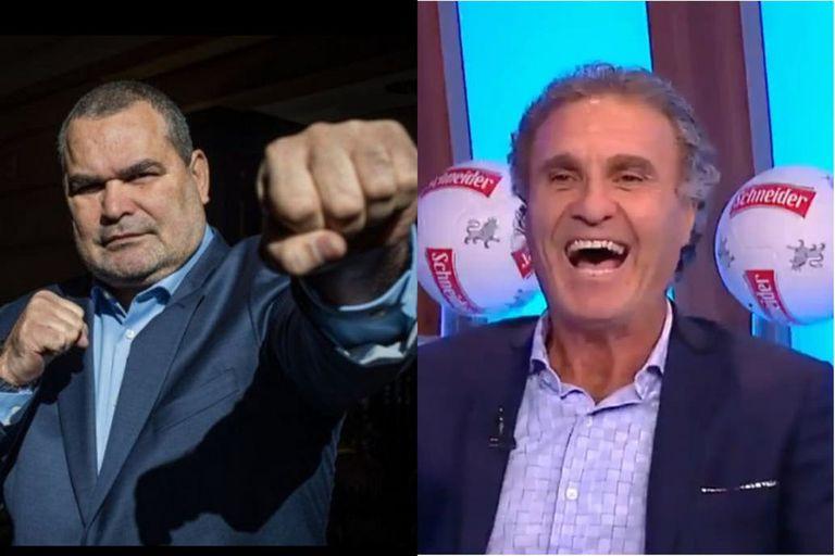 "Showmatch: Feroz ataque de Chilavert a Ruggeri: ""Títere de Tinelli"""