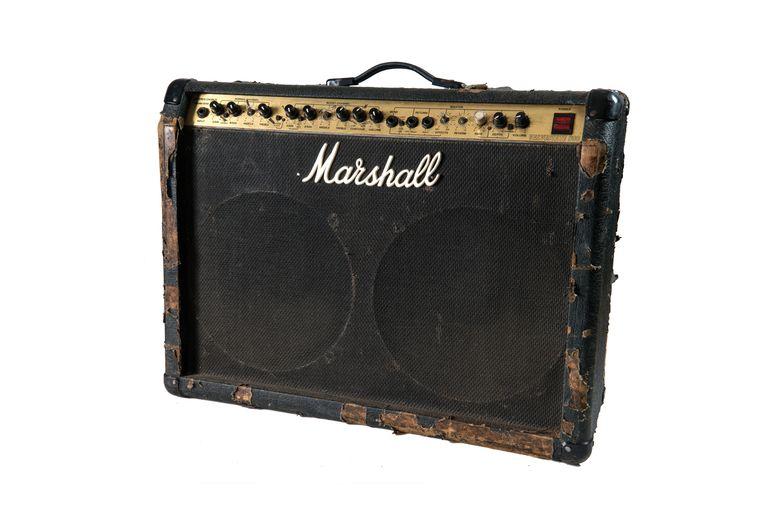 El Marshall que usaba con Pappo's Blues