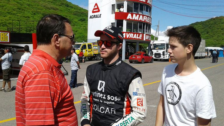 Agustín Canapino sueña con un título en el Top Race