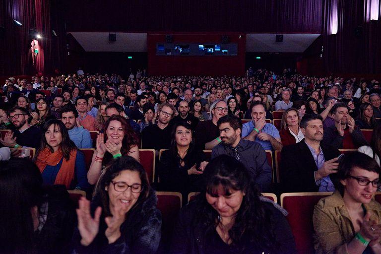 El interior de una de las tres salas del Cine Gaumont, que es reconocido por proyectar películas nacionales sin salida comercial