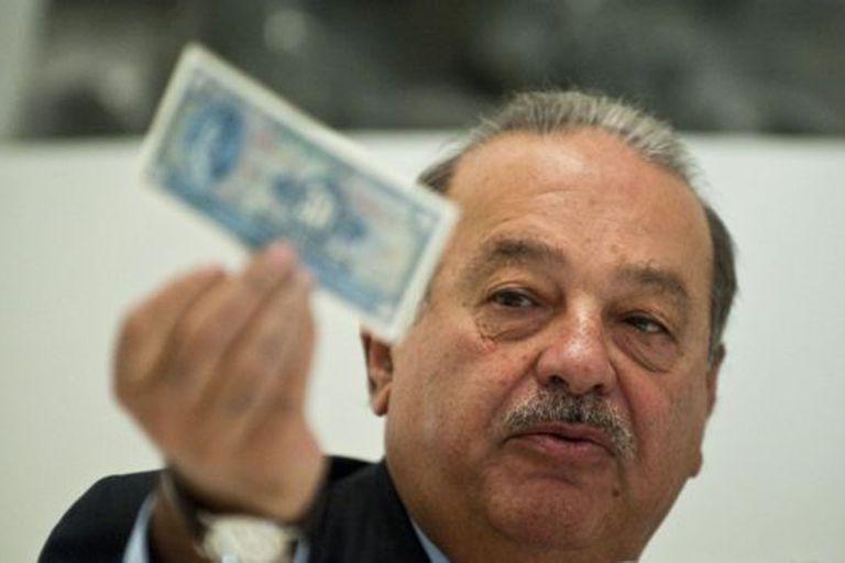 La fortuna de Carlos Slim está estimada en US$62.800 millones, según la revista Forbes