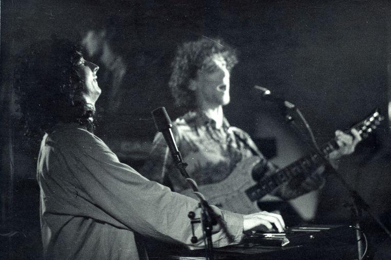 Spinetta y Paéz en Obras, diciembre de 1986