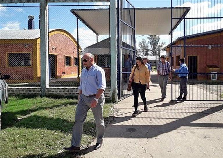 El fiscal Ignacio Telenta sale de la cárcel de Federal tras indagar a Wagner