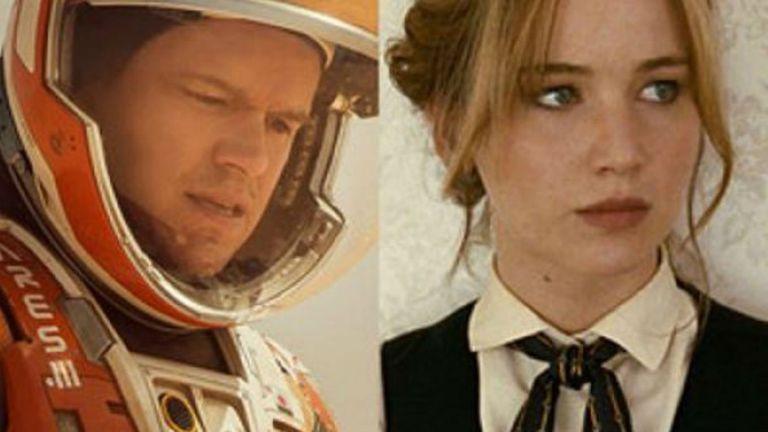 Misión rescate y Joy: el nombre del éxito, dos de las comedias nominadas a los Globos de Oro