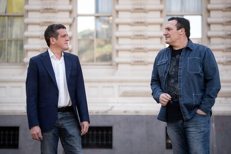 Mauro Szeta y Paulo Kablan le dan teatralidad al género policial