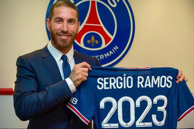 Sergio Ramos llegó a Paris Saint Germain: un refuerzo con el objetivo de  retener a Mbappé - LA NACION