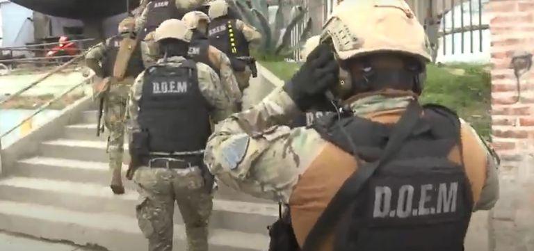 Tropas especiales irrumpieron en un búnker narco