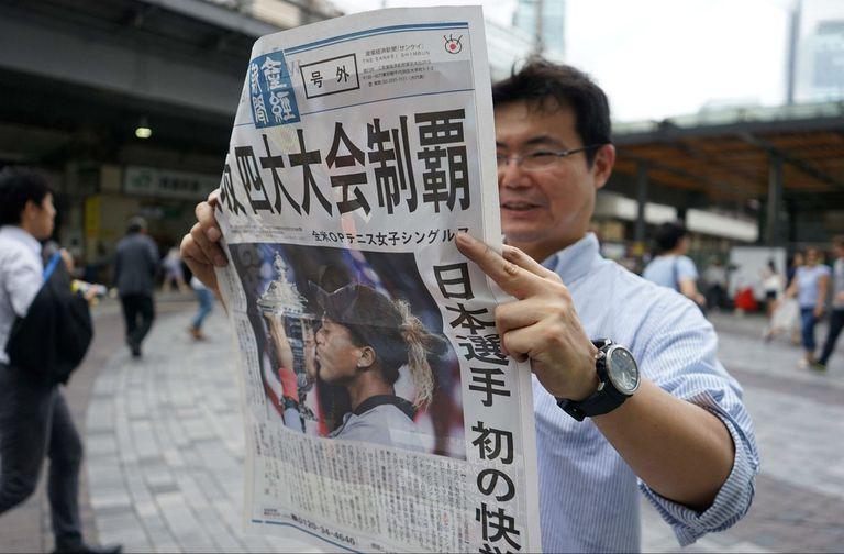 """Además de los festejos, el triunfo de Osaka obligó a una parte de la sociedad más conservadora a replantearse el concepto de """"ser japonés"""""""