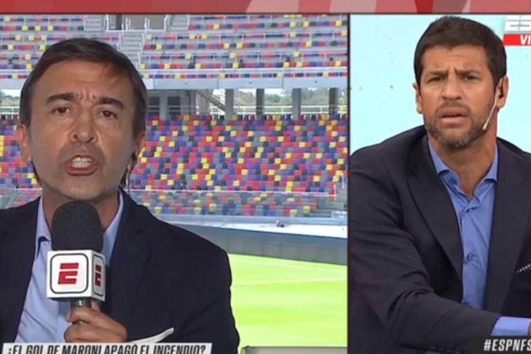 Tensión: el irónico cruce en vivo entre Domínguez y Benedetto