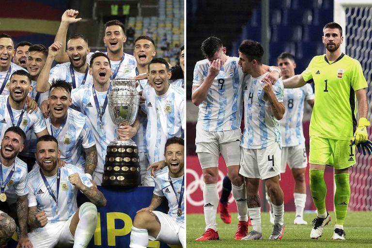 Copa América y Juegos Olímpicos: del equipo de todos al que se hundió en la indiferencia