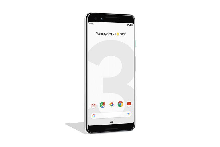 El teléfono Pixel 3 cuenta con una pantalla de 5,5 pulgadas