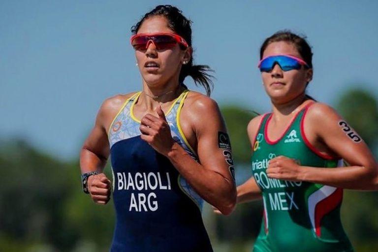 Romina Biagioli logró su plaza para los Juegos Olímpicos pese a competir con una costilla fracturada