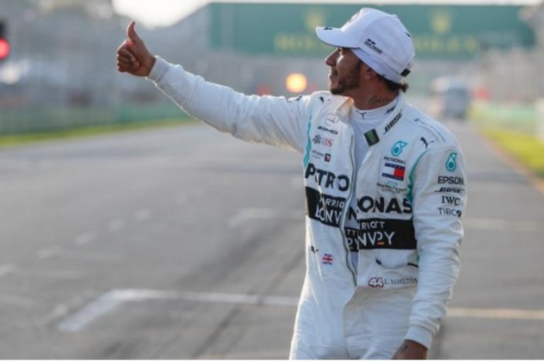 Hamilton logró su sexta pole en Australia y cómo anduvo Ferrari