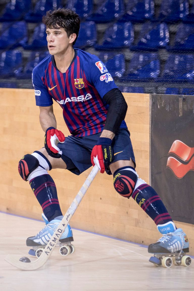 Pablo Álvarez, el goleador argentino que brilla en el hockey en Barcelona