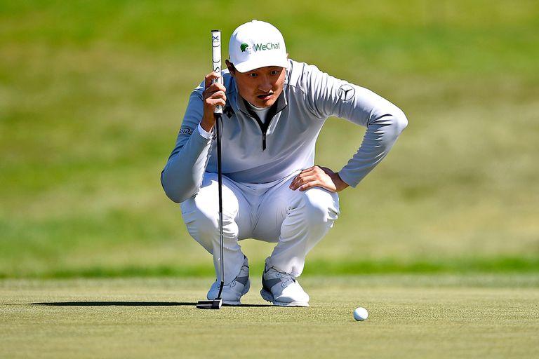PGA. Quiere ser el primer chino en ganar un major y tiene algo que enoja a Trump