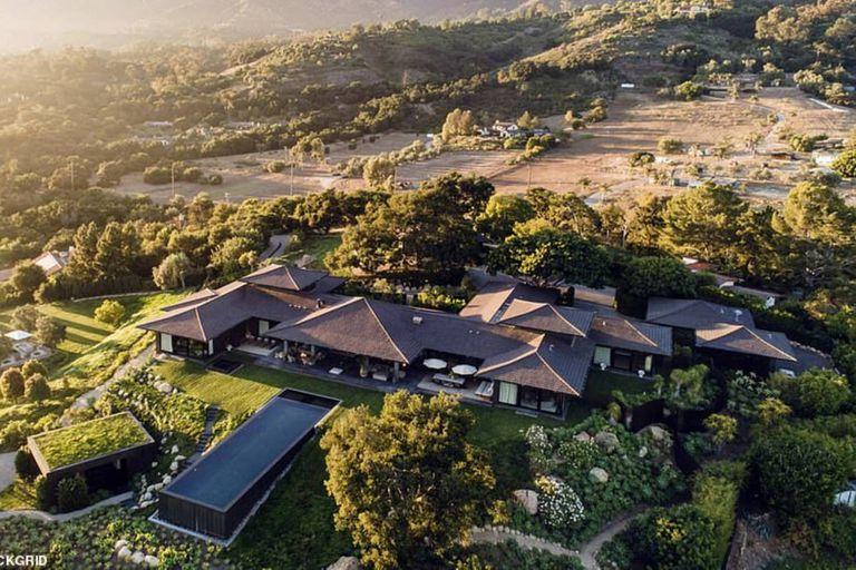 La comediante había comprado esa propiedad, ubicada en el exclusivo barrio de Montecito, en Santa Bárbara, por 27 millones de dólares dos años atrás
