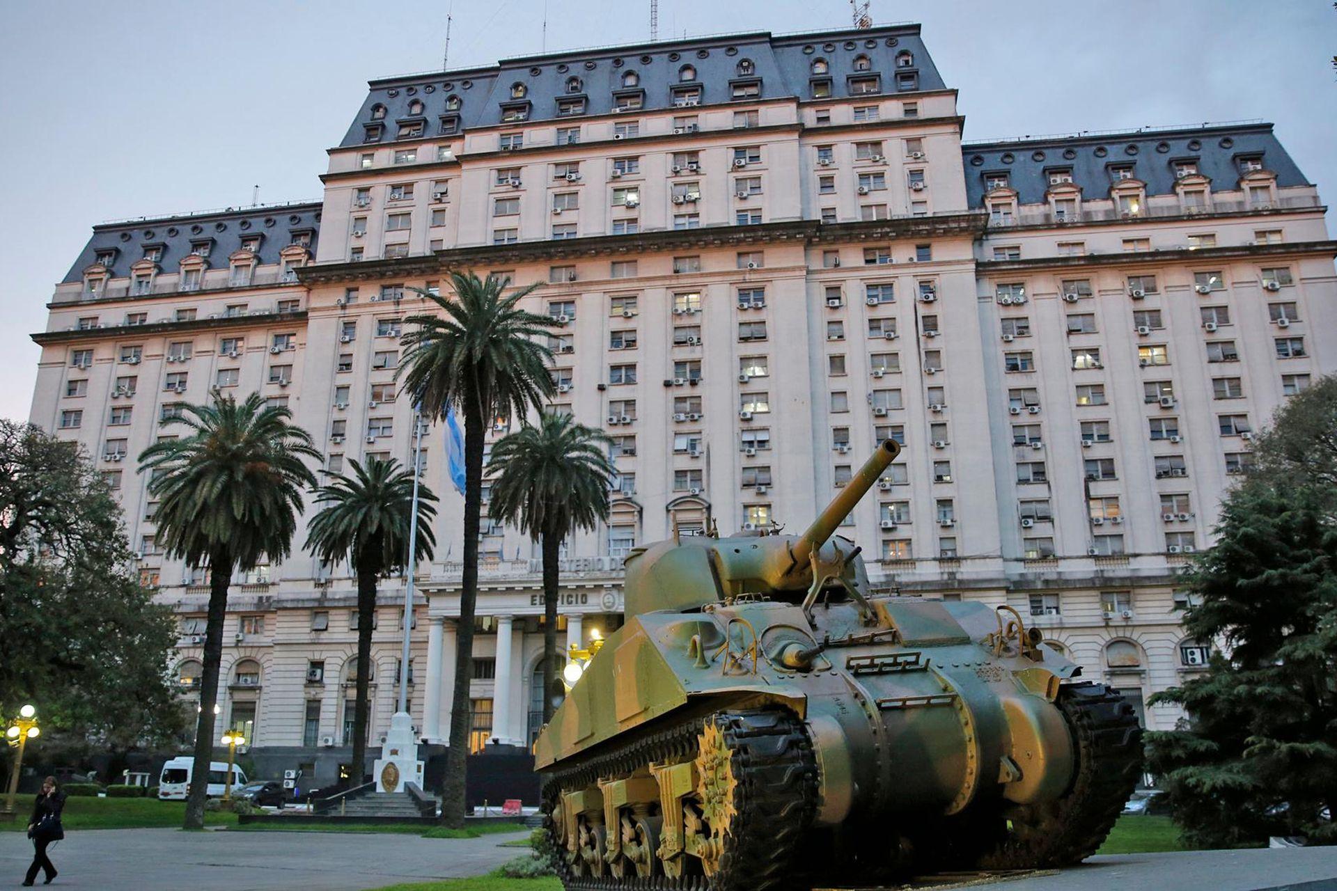 El edificio Libertador tiene un mirador que permite ver la ciudad y todos sus perfiles