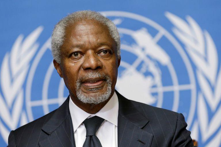 Annan tenía 80 años y además de Secretario General de la ONU fue Premio Nobel de la Paz