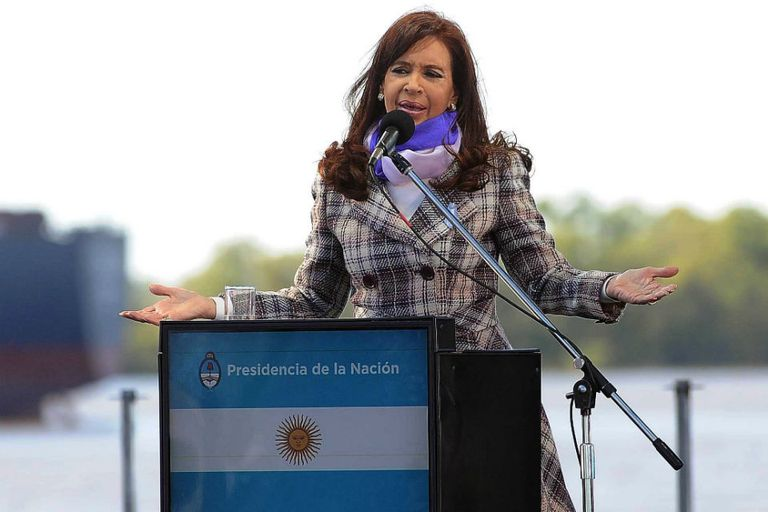 Cristina presidió el acto por el día de la Bandera en Rosario
