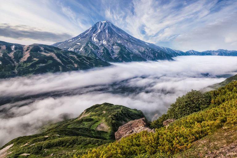 La península de Kamchatka, en el Lejano Oriente ruso