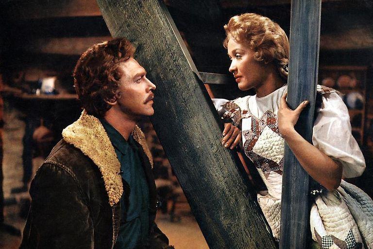 Jane Powell en su película más popular, Siete Novias Para Siete Hermanos, junto a Howard Keel.