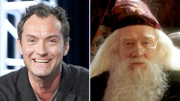 Jude Law será Dumbledore
